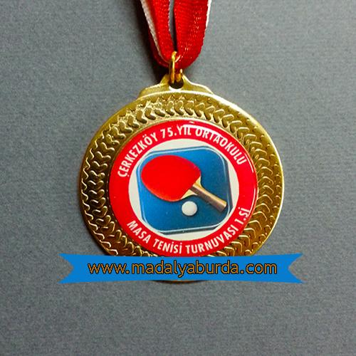 masa tenisi madalyası