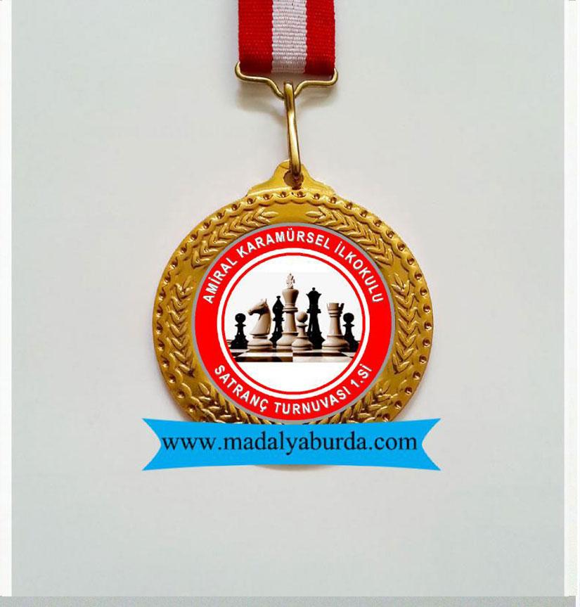Satranç madalyası
