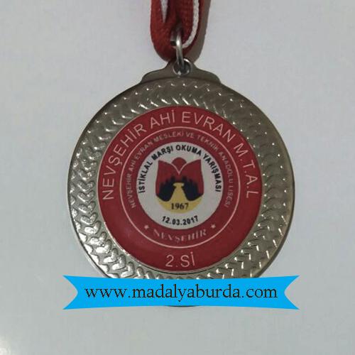 okul gümüş madalya