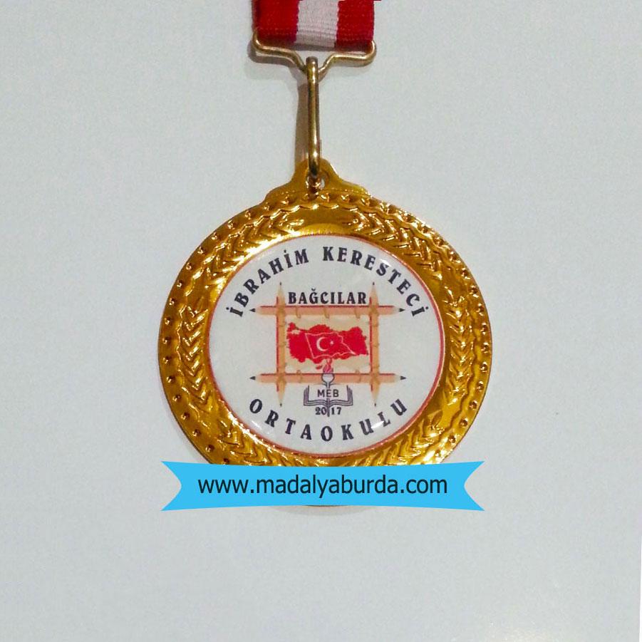 okul logolu-madalya