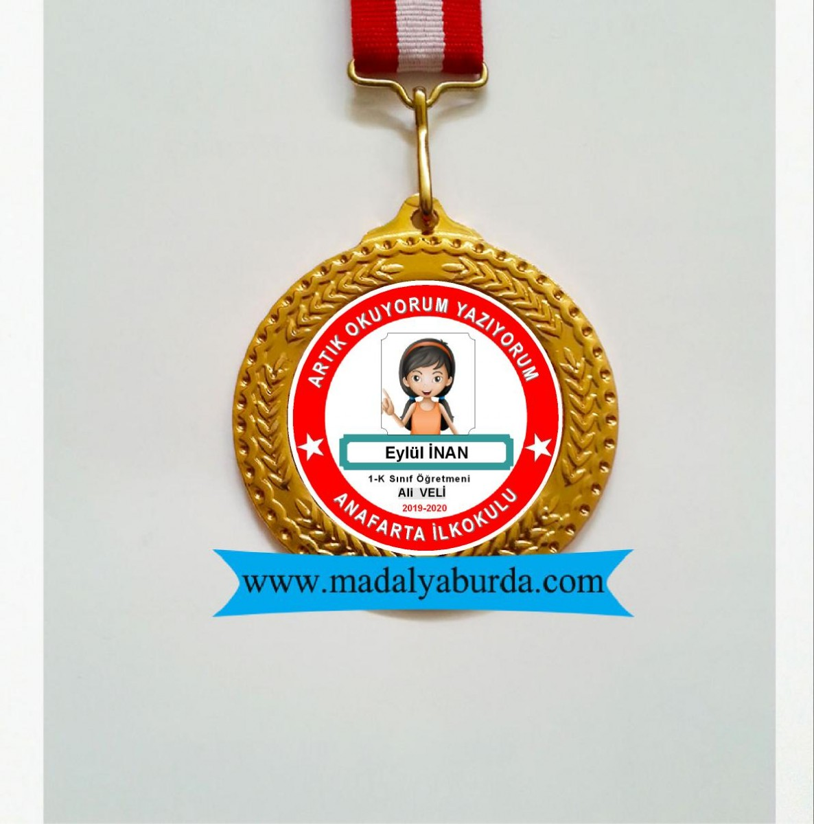 Öğrenci Resimli Madalya