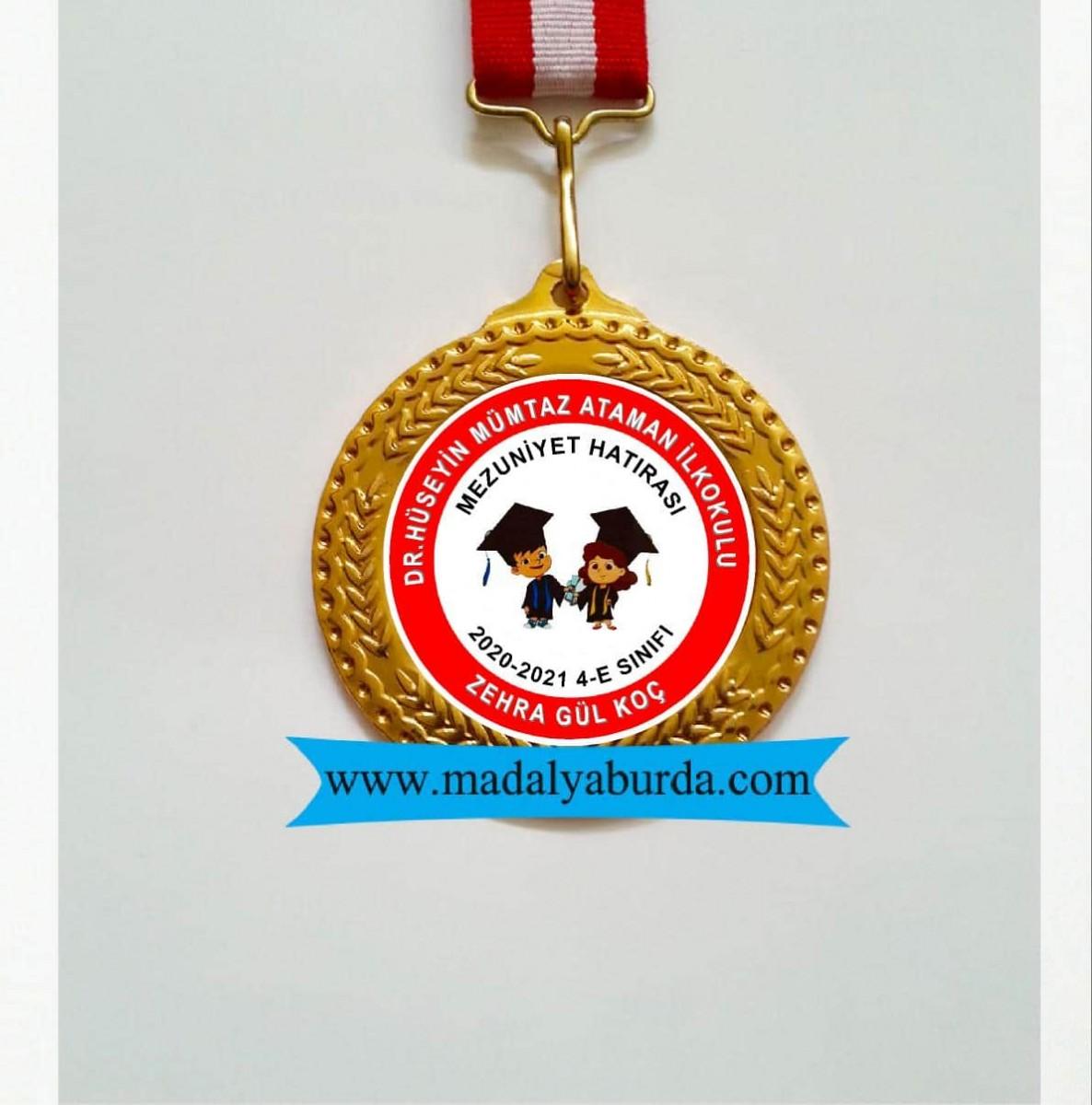İsimli Mezuniyet Madalyası